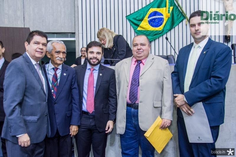 Mauro Benevides Filho, Osorio Bezerra, Julio Cesar e Rodrigo Martiniano