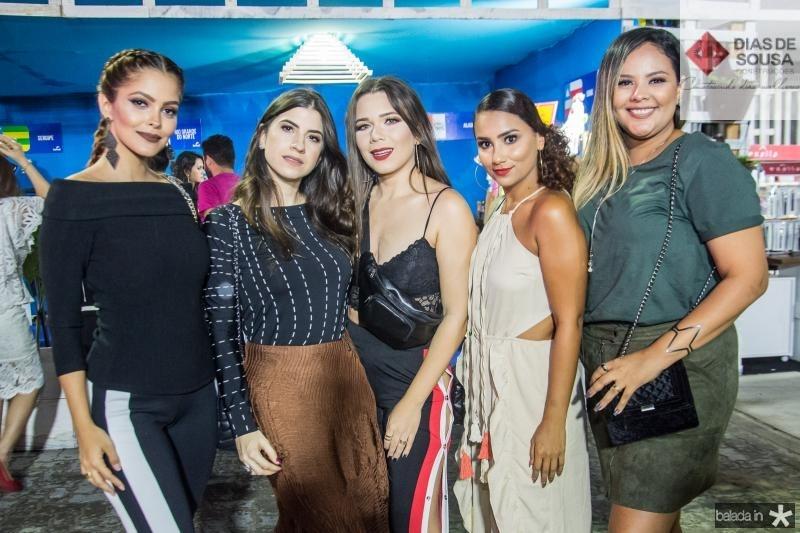 Cris Moreira, Themis Briand, Ursula Andres, Mila Vintage e Isabele Carvalho