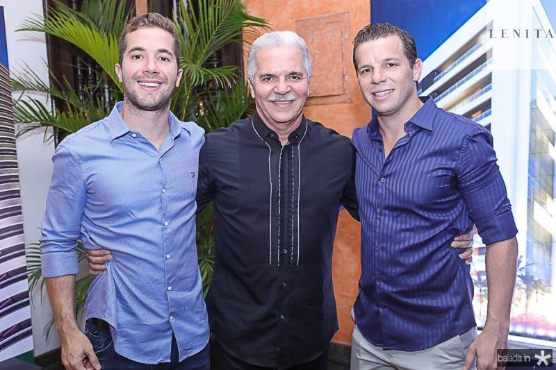 Guilherme, Pio e Andre Rolim