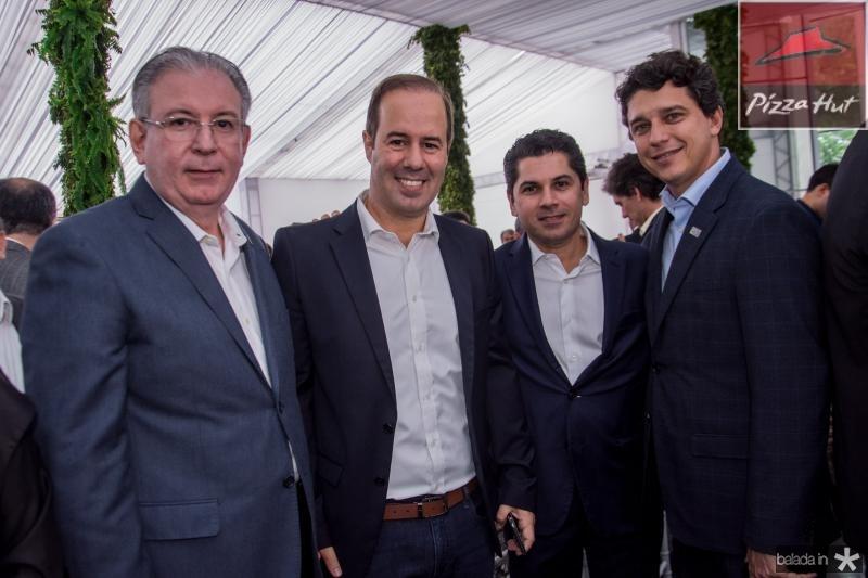 Ricardo Cavalcante, Cesar Ribeiro, Pompeu Vasconcelos e Andre Siqueira