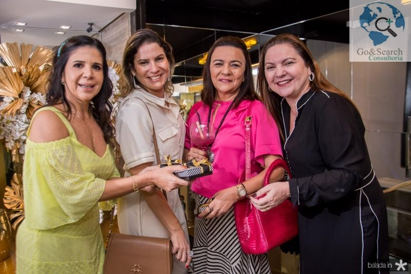 Maria Lucia Negrao, Luciana Borges, Guiomar Feitosa e Lili Cialdini