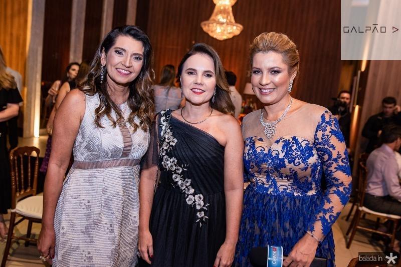 Marcia Travessoni, Gyna Juca e Natalia Varela