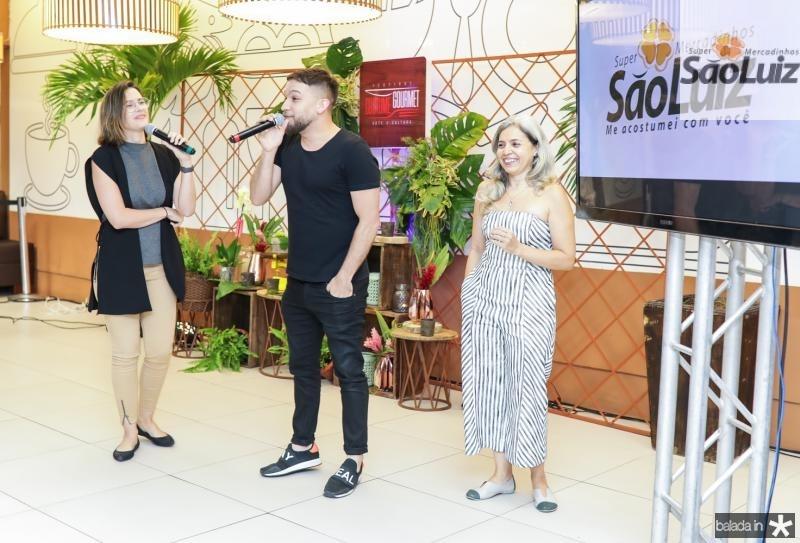 Joana Ramalho, Felipe Carvalho e Claudia Marques