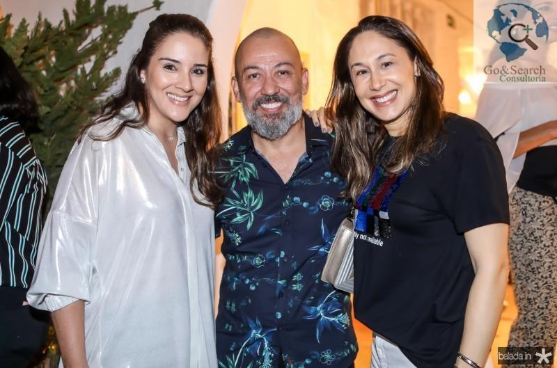 Natlia Marques, Alexandre Lima e Larissa Coelho