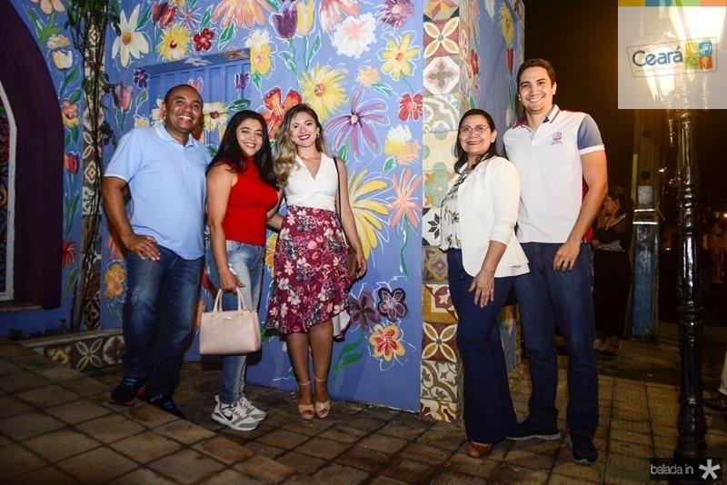 Rejane Queiroz, Rayanne Queiroz, Ana Paula Cavalcante, Samuel Cavalcante