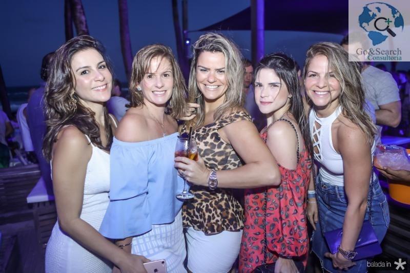 Laura Araujo, Ellen Pessoa, Lana Pinheiro, Marilia Vasconcelos e Cecilia Dafonte