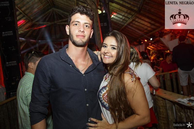 Felipe Barra e Carol Coelho