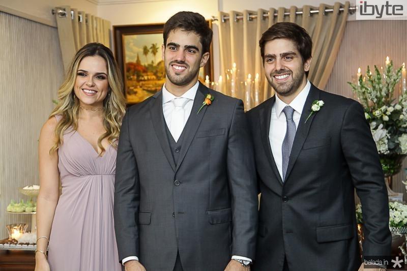 Brena, Lucas e Edgar Ximenes