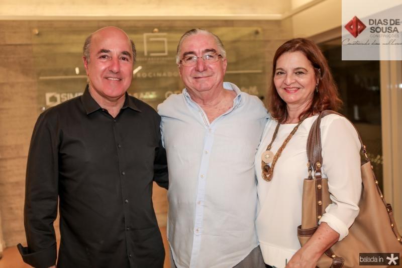 Silvio Frota, Murilo e Fatima Belchior