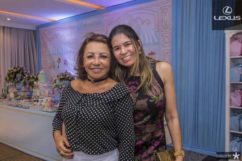 Eneuda Duarte e Mailze Bezerra
