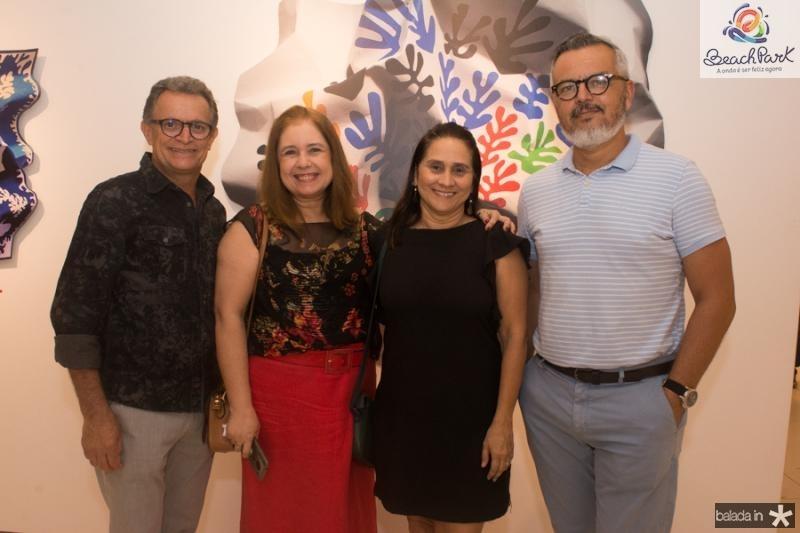 Joao Almeida, Karen Pereira, Karla Cordeiro e Eugenio Mendonca