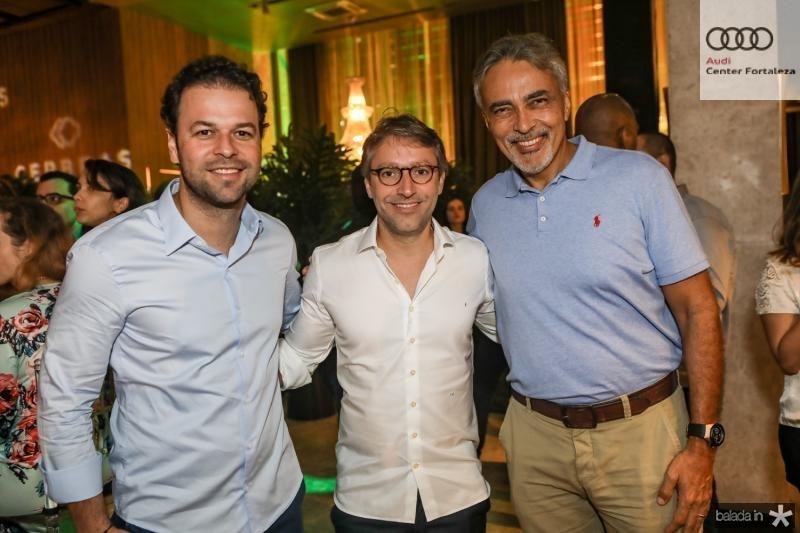 Geraldo Rola, Francisco Marinho e Paulo Angelin