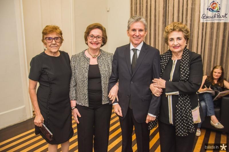 Gisela da Costa, Regina Fiuza, Padua Lopes e Fernanda Quindere