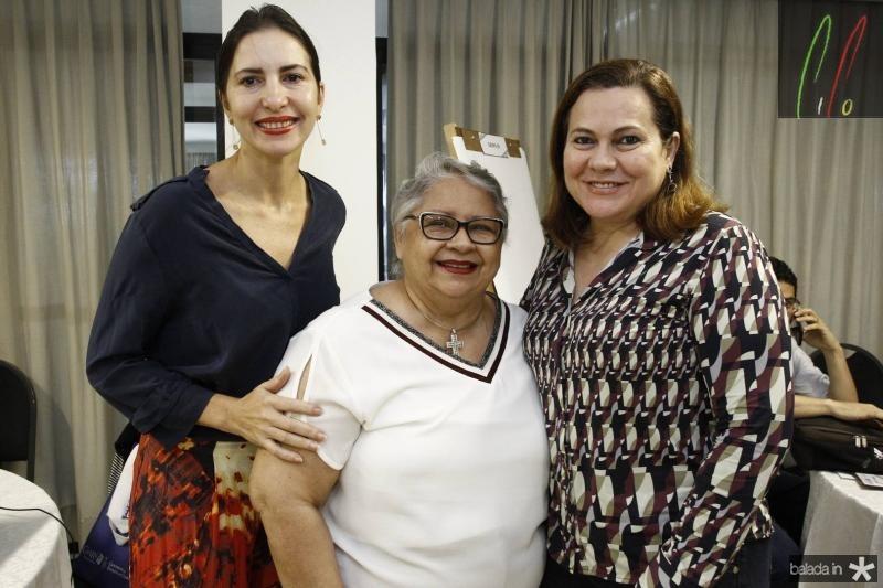 Edna Camara, Gloria Ribeiro e Marta Campelo