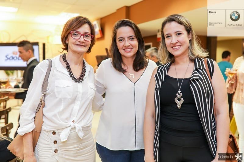 Louise Benevides, Camila Andrade e Izaqueline Ribeiro