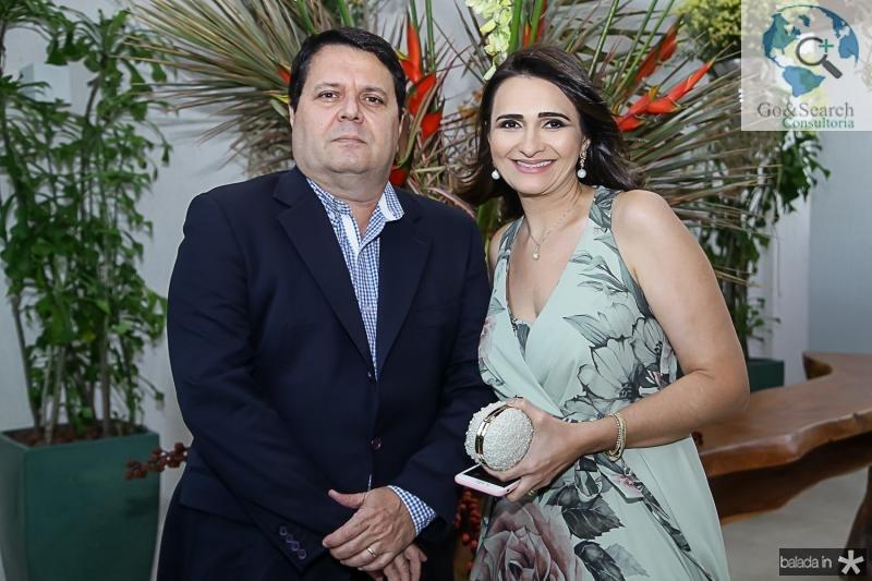 Oswaldo e Ticiana Juca