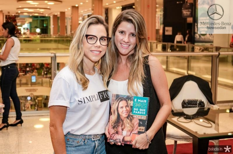 Mirella Rocha e Ana Macedo