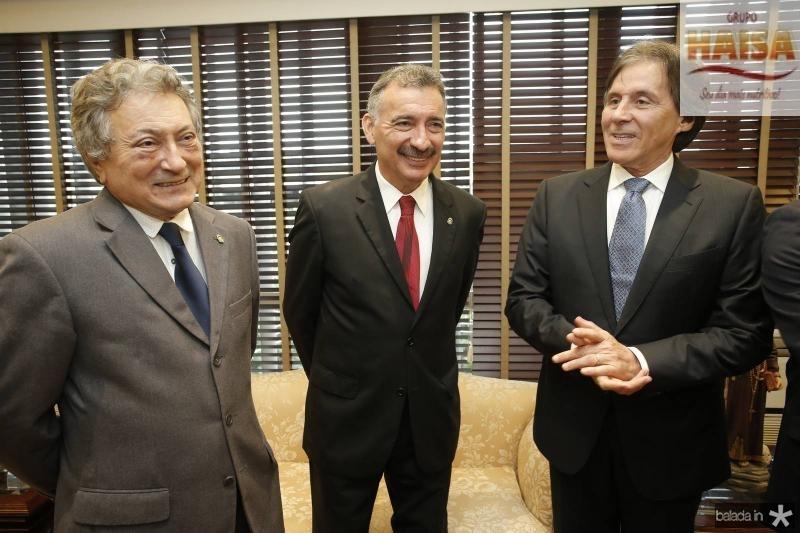 Euvaldo Brimgel, Artur Bruno e Eunicio Oliveira