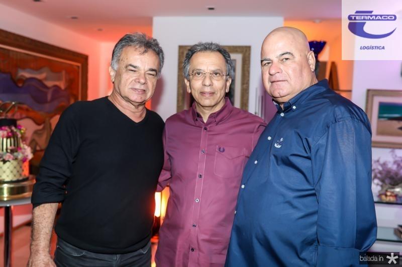 Fernando Barroso, Eduardo Rolim e Luciano Cavalcante