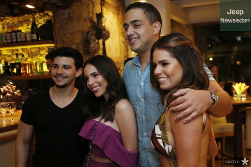 Pedro Paulo, Nicole Vasconcelos, Rafael Pinto e Leticia Studart 2