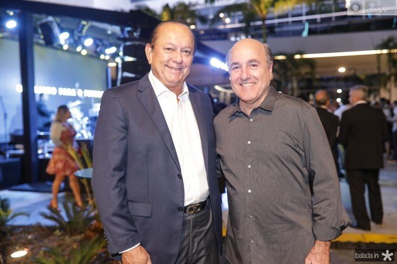 Rafael Leal e Silvio Frota
