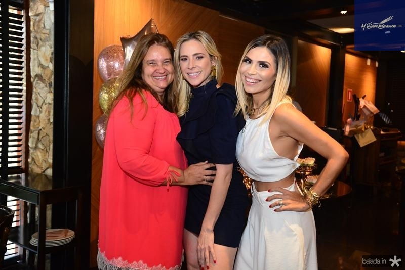 Safira Moreira, Martinha Freire e Grazi Nogueira