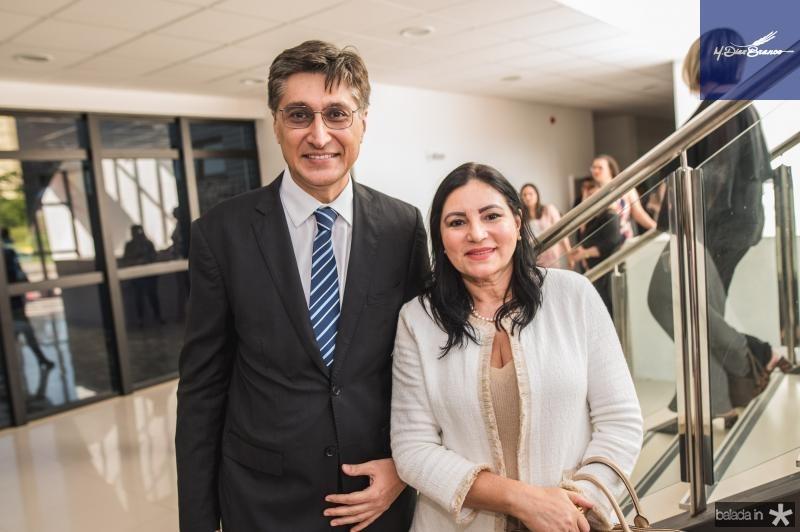 Hugo Figueiredo e Cissa Maia