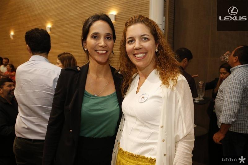 Nadia Bismarck e Ticiana Queiroz
