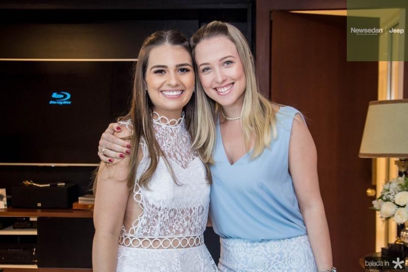Manuela Câmara e Paula Solto