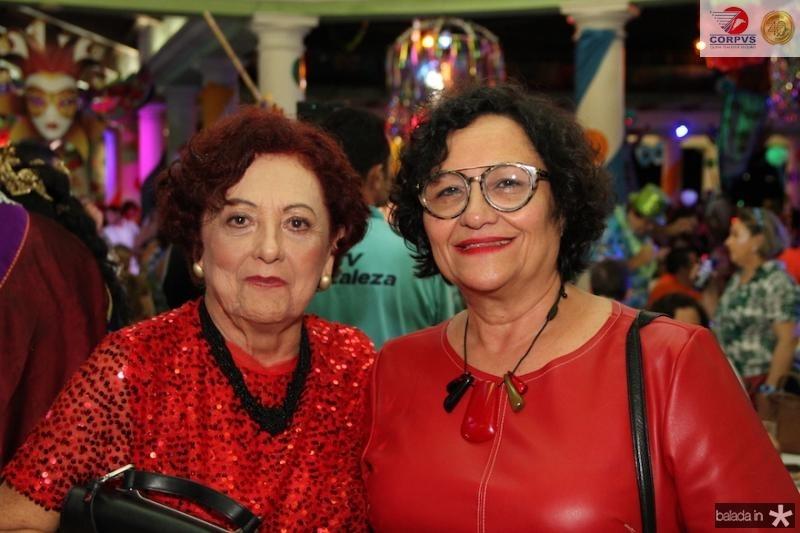 Emilia Porto e Lucia Gomes