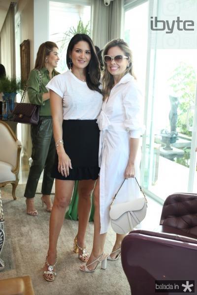 Aline Pinho e Marceline Moreno