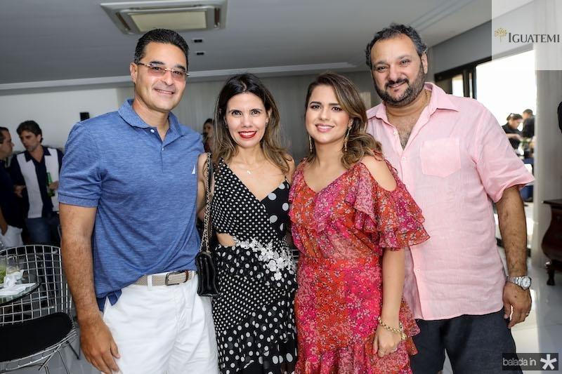 Daniel e Pamela arruda com Patriolino e Renata Dias