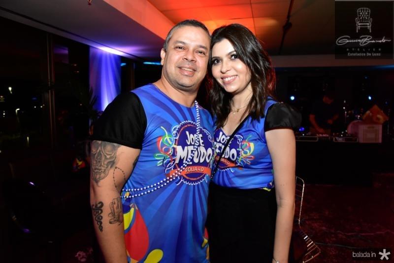 Wiron e Danielle Correia Lima