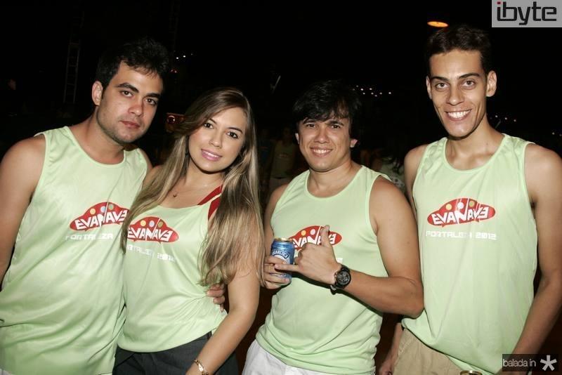 George Tancredo, Brenda Pires, Rodrigo Tavora e Thiago Antonio