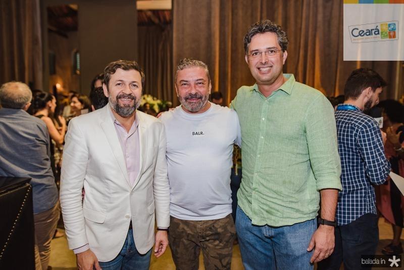 Elcio Batista, Claudio Silveira e Murilo Pascoal