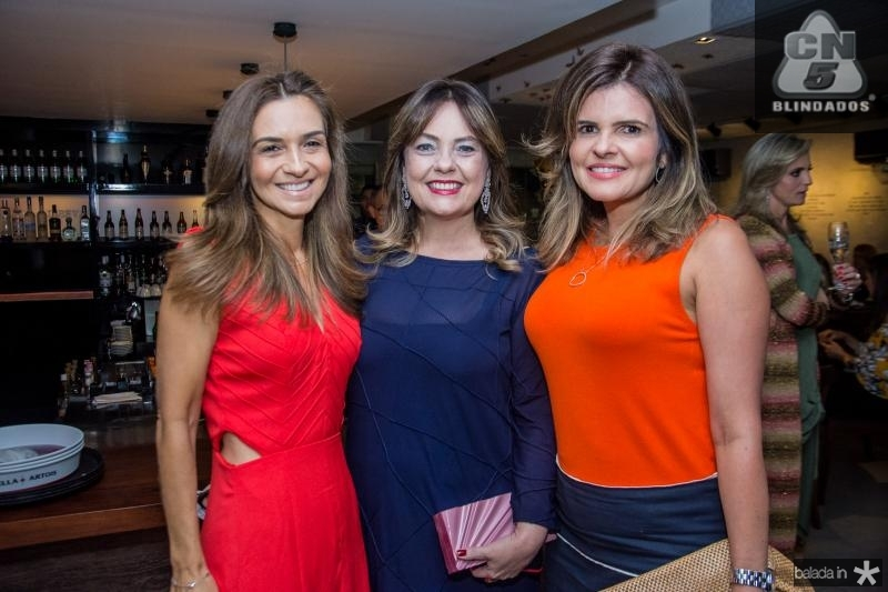 Cristina Brasil, Erica Girao e Cristine Feitosa