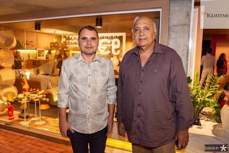 Silval Stain e Epitacio Vasconcelos