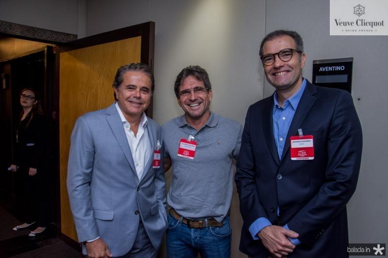 Ivan bezerra, Adalberto Machado e Eduardo Figueiredo