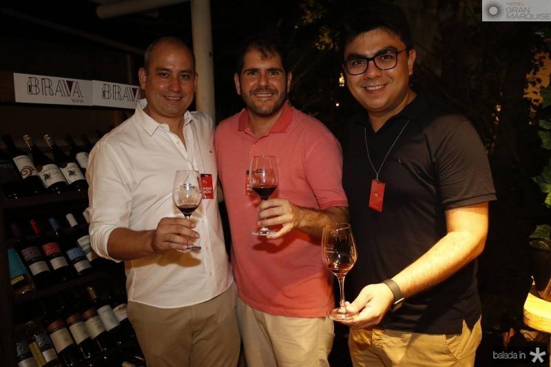 Andre Linheiro, Eduardo Castelao e Rolf Campos 2