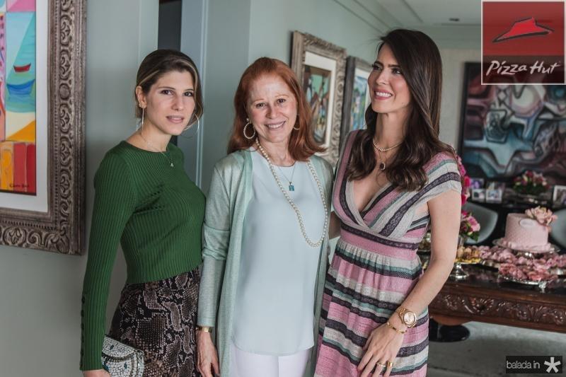Uliana Machado, Ana Luisa Lima E Marcella Porto