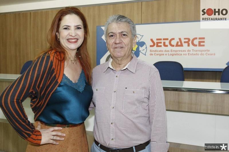 Enid Camara e Clovis Nogueira