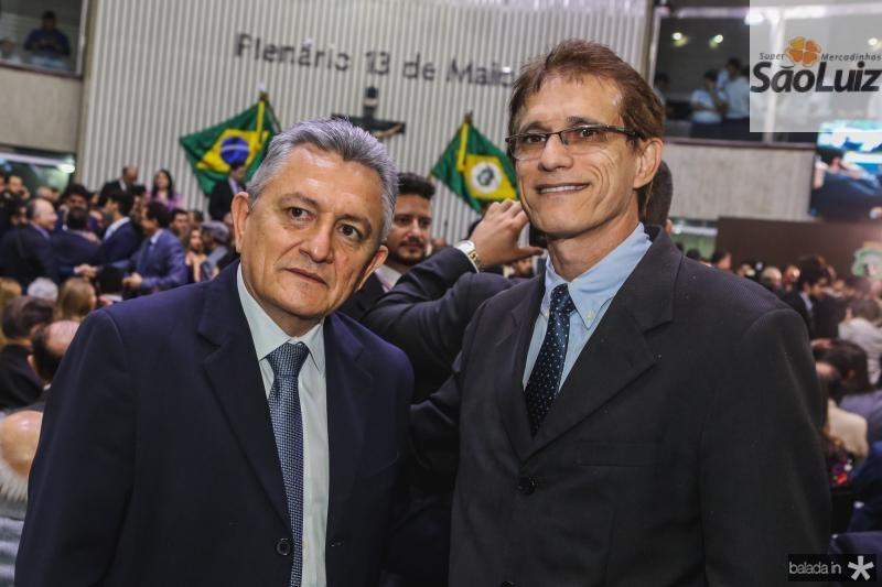 Raimundo Sampaio e Eudiberto Barreto
