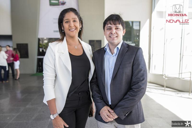 Luciana Castro e Daniel Rios