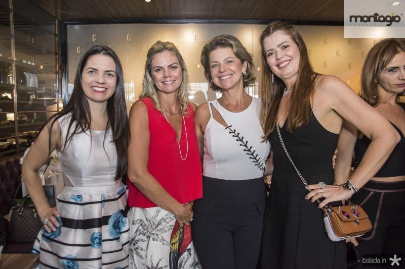 Lilia Sales, Layla Fujita, Ana Cristiana Wolf e Lucia Fialho