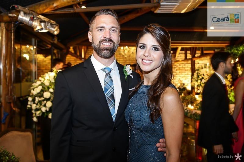 Jeremy e Marcela Pontes