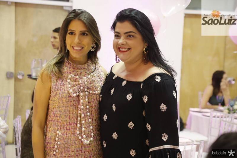 Tayra Aguiar e Viviane Almada