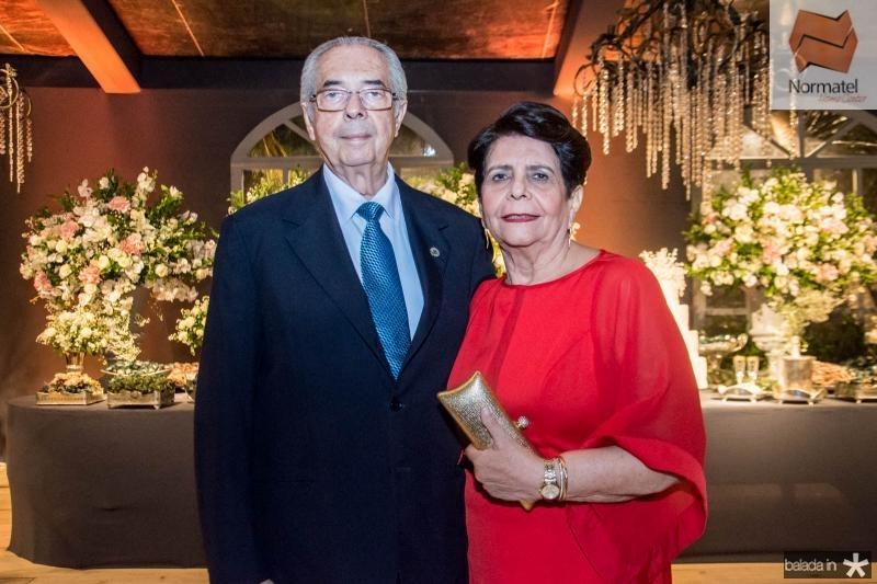 Paulo e Gerçalina Picanso