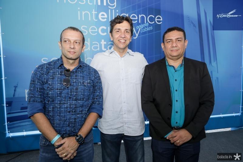 Marcio Falcao, Flavio Pinto e Daniel Bastos