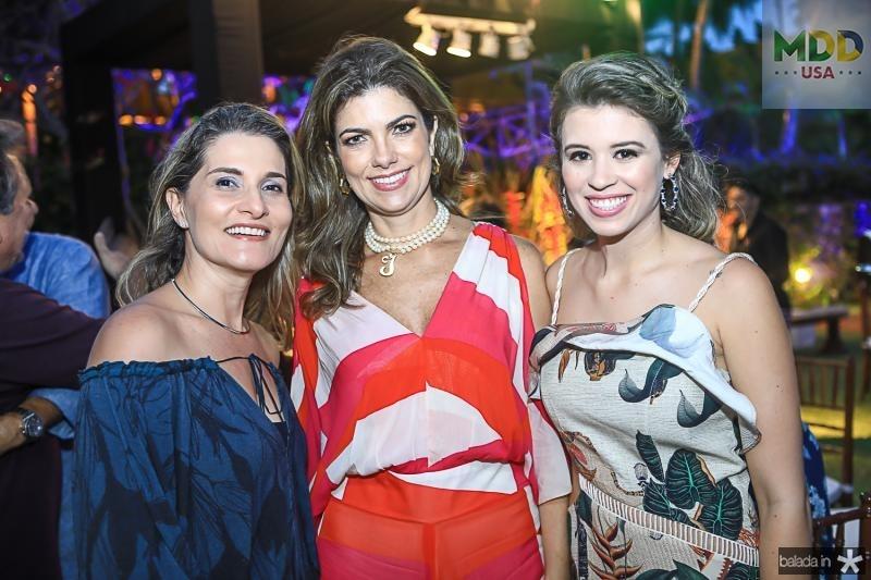 Alessandra Moura, Ines Castro e Isabella Bezerra