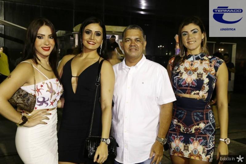 Dominique Moraes, Emanuelle, Alcy e Cibelle Oliveira